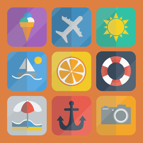 summer-icon-pack-vector